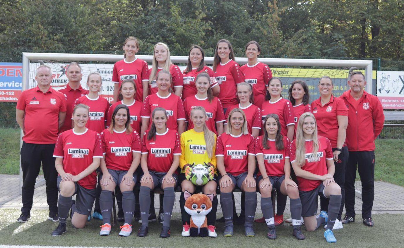 Mannschaftsfoto FSV Vohwinkel Frauen
